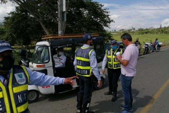 Intensifican operativos en Valle para evitar que ciudadanos se vayan de puente