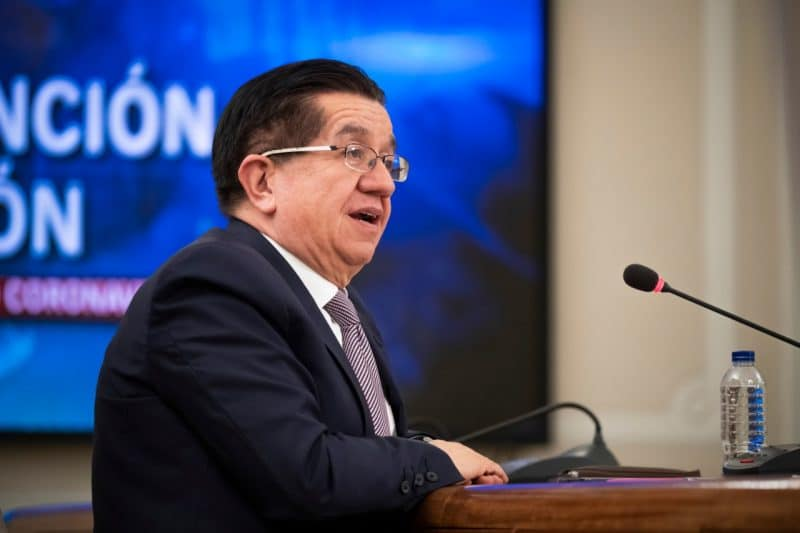 Ministro de Salud aseguró que, debido a las medidas tomadas, pico de COVID-19 llegará a finales de junio