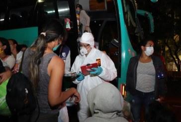 Salió último corredor humanitario desde Cali con 506 venezolanos hacia la frontera con su país