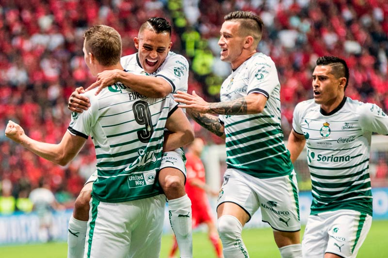 El Santos Laguna del fútbol mexicano suma 12 contagiados de la COVID-19