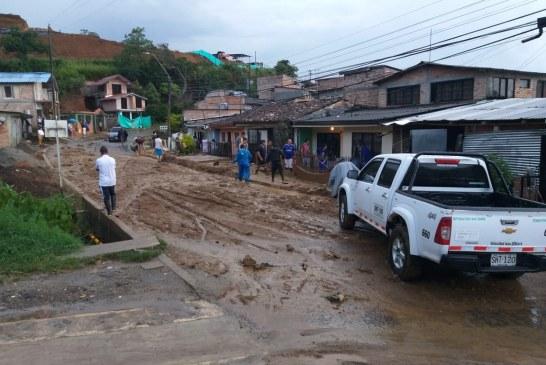 15 barrios inundados y 21 casas destruidas dejan fuertes lluvias en Popayán