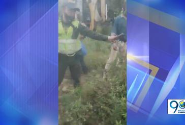 Tras impedir un desalojo, Policía Nacional abrió investigación disciplinaria contra patrullero zuñiga