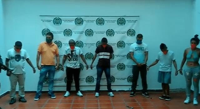 Pese a cuarentena, fueron capturados 7 personas en una fiesta clandestina en Corinto