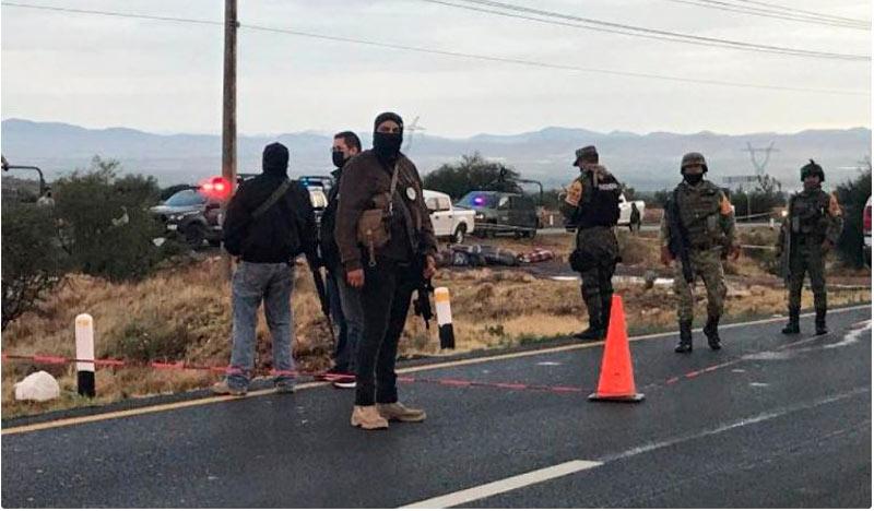 Autoridades de México hallan 25 cadáveres en carreteras del estado de Zacatecas