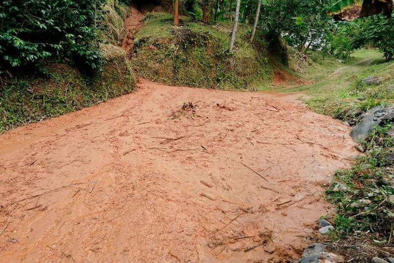 Autoridades municipales realizan monitoreo ante las lluvias en la región