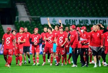Bayern Múnich celebró su octavo título consecutivo ante las tribunas casi vacías