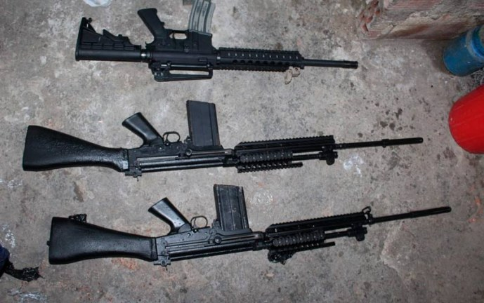 Cárcel a mujer en Cali que guardaba poderoso cargamento armas y municiones