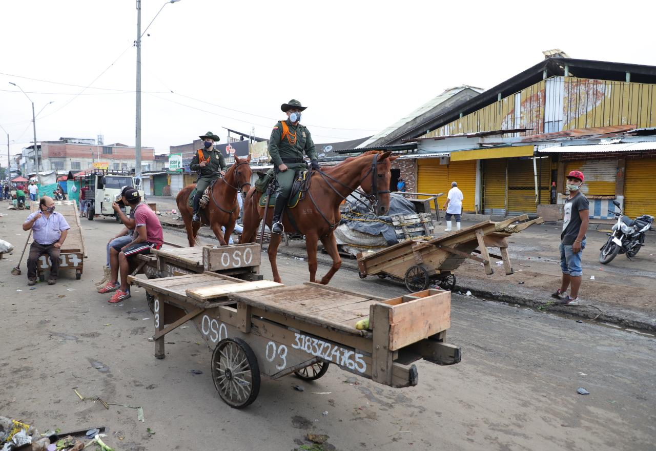 En medio del cierre de nueve días, la apuesta será por una recuperación integral de la galería Santa Elena
