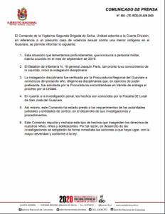 comunicado-prensa-ejercito- 30-06-2020