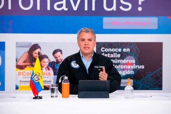"""Presidente Iván Duque defiende programa """"Prevención y Acción"""""""