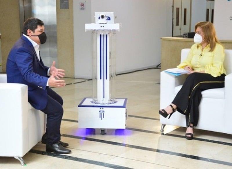 Presentan en el Valle primer robot que ayudará a combatir el COVID-19