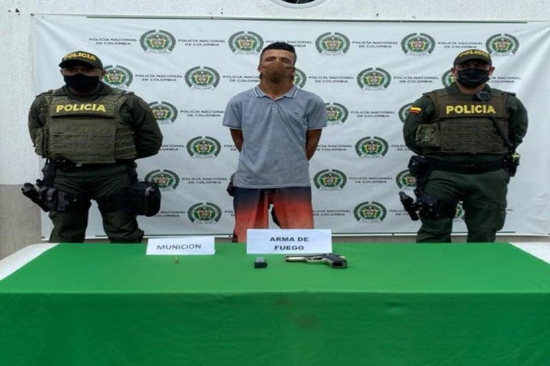A la cárcel presunto responsable de portar armas sin el permiso requerido en Tuluá