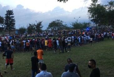 Intervienen en partido de fútbol con más de 200 personas en Cali en plena cuarentena