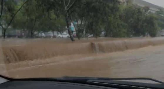 Inundaciones, barrios sin energía y árboles caídos dejó la fuerte lluvia del miércoles