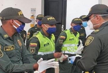 Policía del Chocó reportó 100 uniformados contagiados de COVID-19