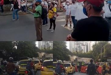 Los protestantes manifestaron que no se desplazarán hasta recibir una respuesta por parte de Emcali.