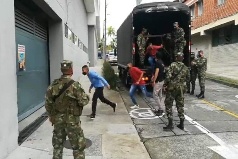 A la cárcel los 7 soldados del Ejército que abusaron de menor indígena Embera Chamí en Risaralda
