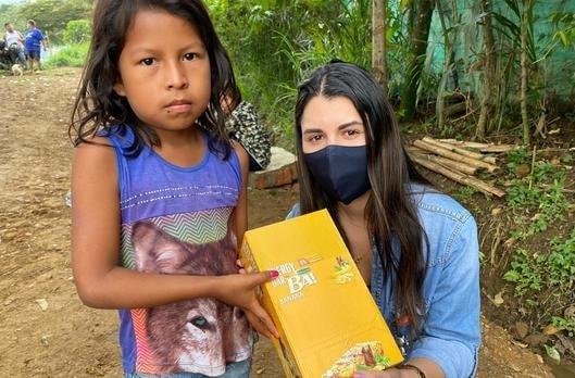 Indígenas Wounaan de Cali recibieron ayudas humanitarias de la Gobernación