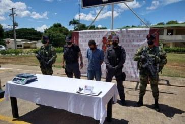 A la cárcel presunto responsable de tráfico de estupefacientes en Cauca