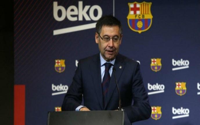 Presidente del Fc Barcelona se refirió al futuro de Messi y a contrataciones de Neymar y Lautaro