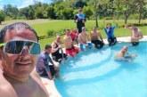 En fotos: Procurador regional y personero de Popayán habrían incumplido la cuarentena en reunión social en piscina