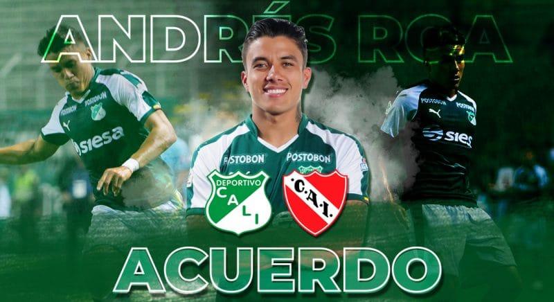 Deportivo Cali extiende el préstamo de Andrés Felipe Roa al Club Avellaneda