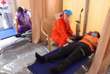 Alcaldía instala zona de aislamiento de atención de pacientes COVID-19 en La Flora
