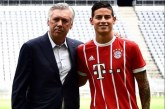 """""""Es un jugador del Real Madrid y creo que seguirá siendo jugador del Real Madrid"""": Ancelotti sobre James"""
