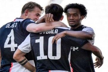 Cuadrado y la Juventus, a solo una victoria de ser nuevamente campeones de La Liga
