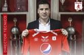 América de Cali presenta a Juan Cruz Real como su nuevo entrenador