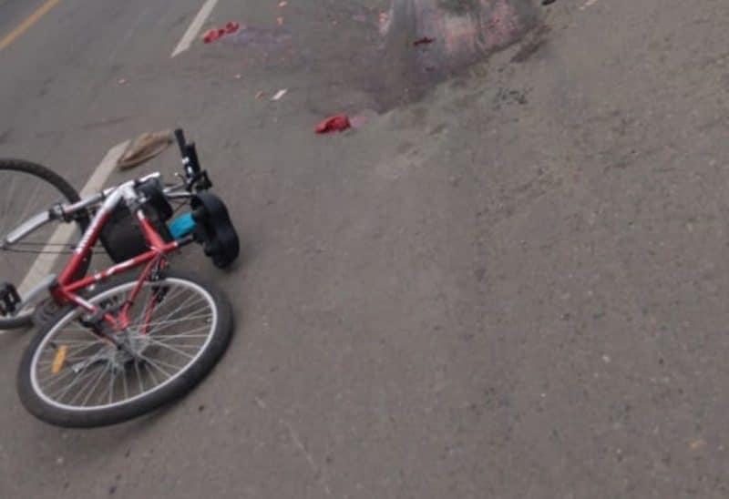 En accidente con una volqueta falleció una ciclista en la vía Cali – Jamundí