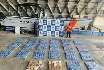 Armada Nacional detuvo carga de sustancias avaluado en $49 mil millones en el Río Naya