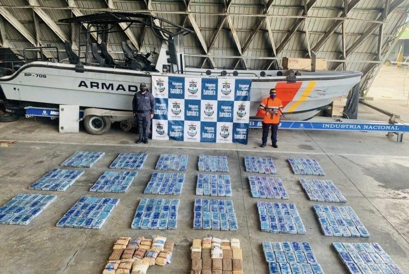 Armada Nacional detuvo carga de sustancias avaluado en  mil millones en el Río Naya