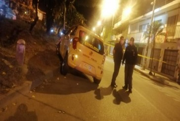Autoridades buscan a responsables del homicidio de un taxista en Marroquín