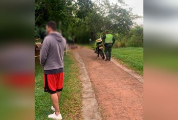 Asesinan a hombre mientras hacía deporte en un parque del barrio Valle del Lili