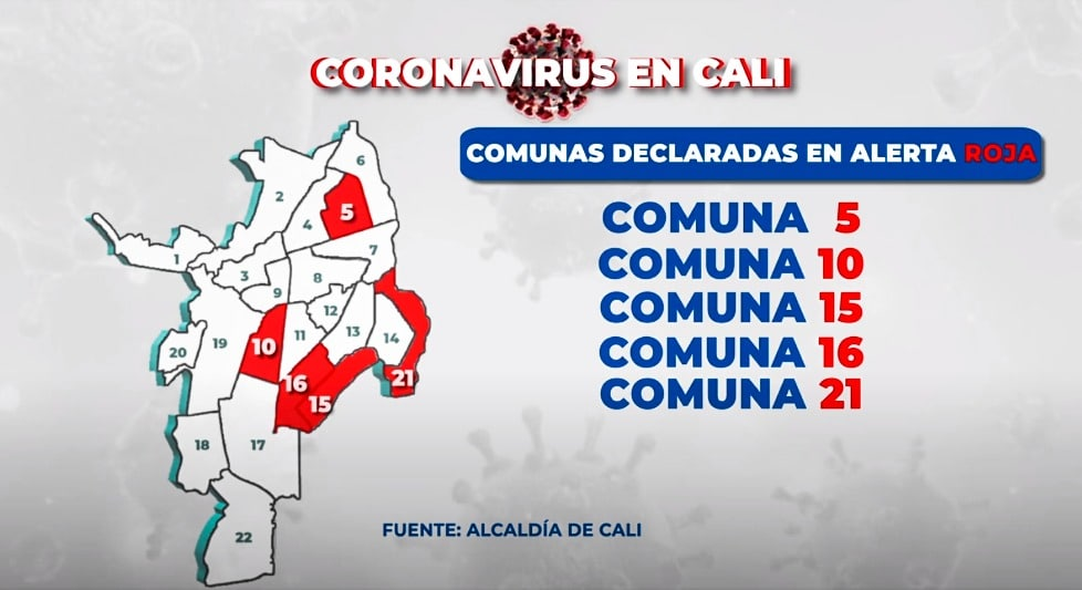 Así reaccionaron líderes de comunas declaradas en Alerta Roja en Cali ante nuevas medidas anunciadas