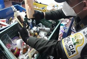 Autoridades incautaron mercancías ilegales avaladas por 22 mil millones de pesos