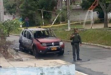 Autoridades investigan incendio de un vehículo de seguridad frente a cabildo indígena en Jamundí