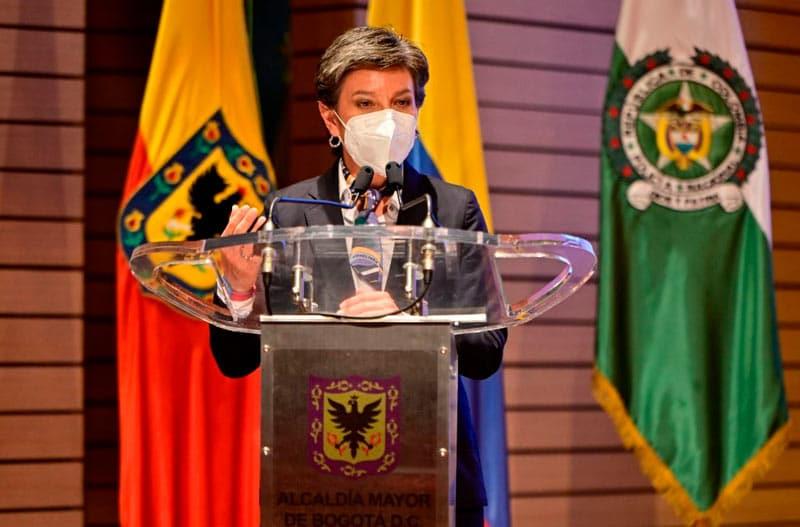 Bogotá retomó el lunes cuarentena obligatoria por localidades debido a COVID-19