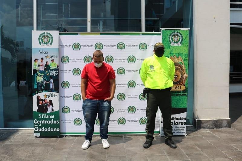 Capturan al presunto asesino del exfutbolista jamundeño Jaír Abonia