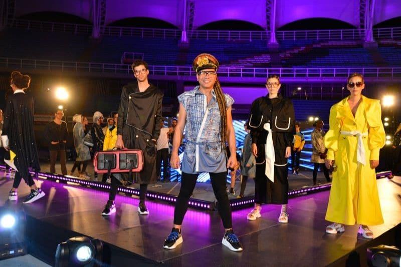 El diseñador vallecaucano Guio Di Colombia presentó su colección en Colombiamoda