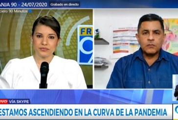 """""""Entrar a cuarentena estricta podría afectar drásticamente la economía local"""": Jorge Iván Ospina"""