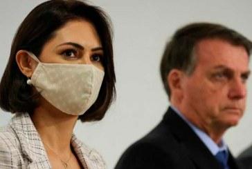 La esposa del Presidente de Brasil da positivo para coronavirus