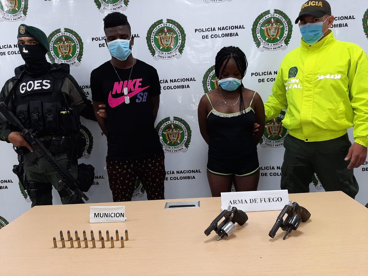 A la cárcel presuntos responsables de portar arma de fuego ilegalmente en Buenaventura