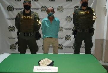 A la cárcel presunto responsable de transportar mil gramos de cocaína en Bugalagrande