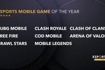 Juego Free Fire está nominado en los Esports Awards 2020