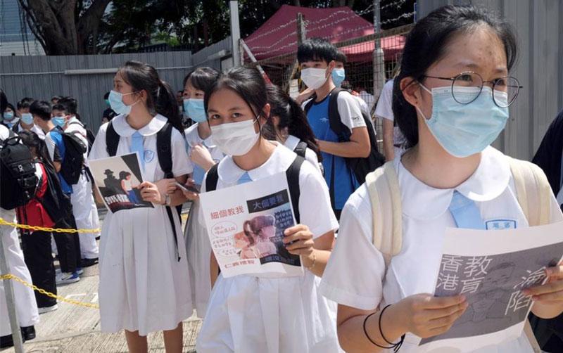 Hong Kong decide cerrar los colegios tras rebrote de coronavirus