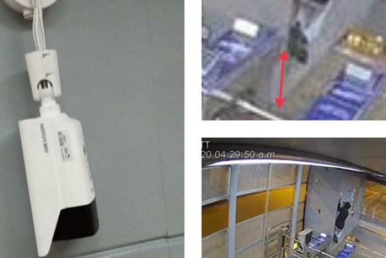 En video captan a individuo que intentó robarse una cámara térmica de estación del Mío