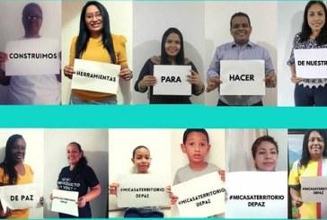 'Mi casa, mi territorio de paz': Encuentros virtuales fomentan la paz dentro de los hogares caleños