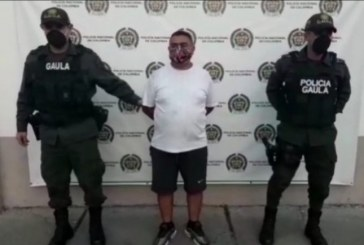 A la cárcel presunto extorsionista que exigía 50 mil millones de pesos a comerciante en Tuluá